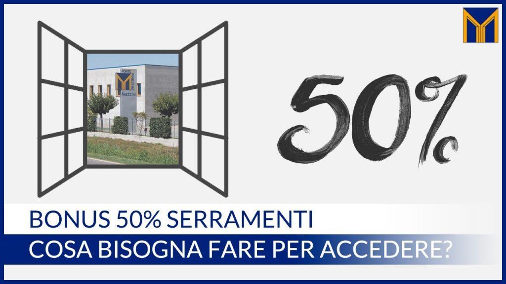 bonus finestre e infissi 50 per cento