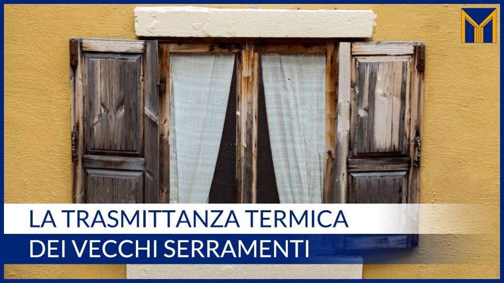 trasmittanza termica infissi