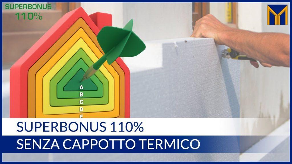 superbonus 110% cappotto termico