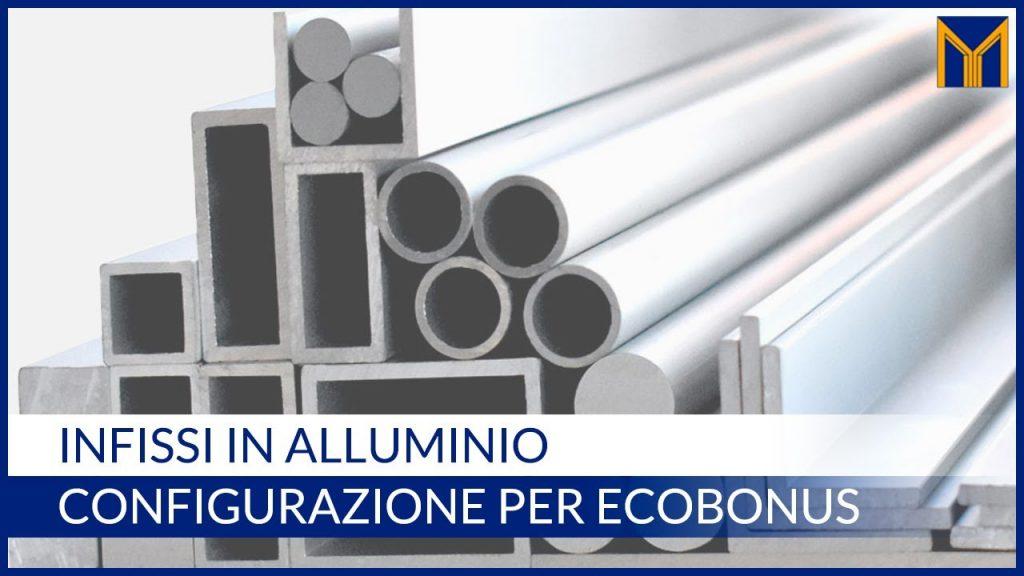 infissi in alluminio risparmio energetico